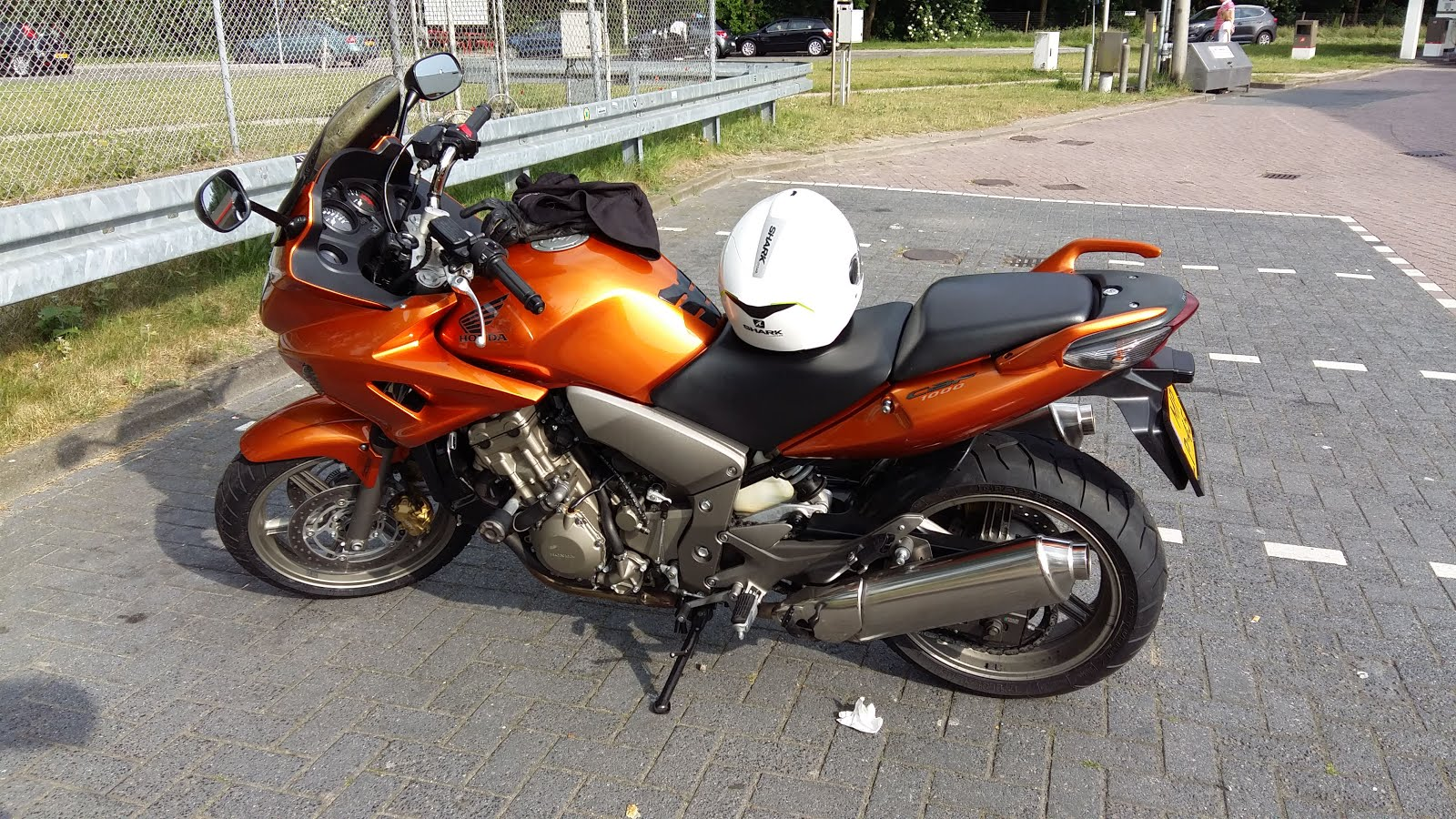 My Honda CBF1000ABS