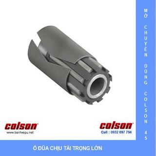 Bánh xe Phenolic chịu nhiệt càng xoay 150mm Colson Mỹ| 4-6109-339 sử dụng ổ đũa
