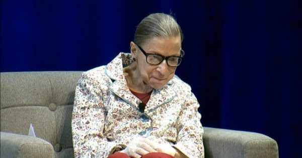 Deplorable News: JUSTICE RUTH BADER GINSBURG RETIRES FROM #SCOTUS
