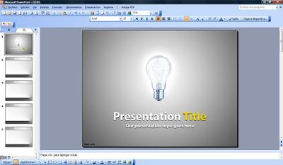 Microsoft PowerPoint Presentation Template