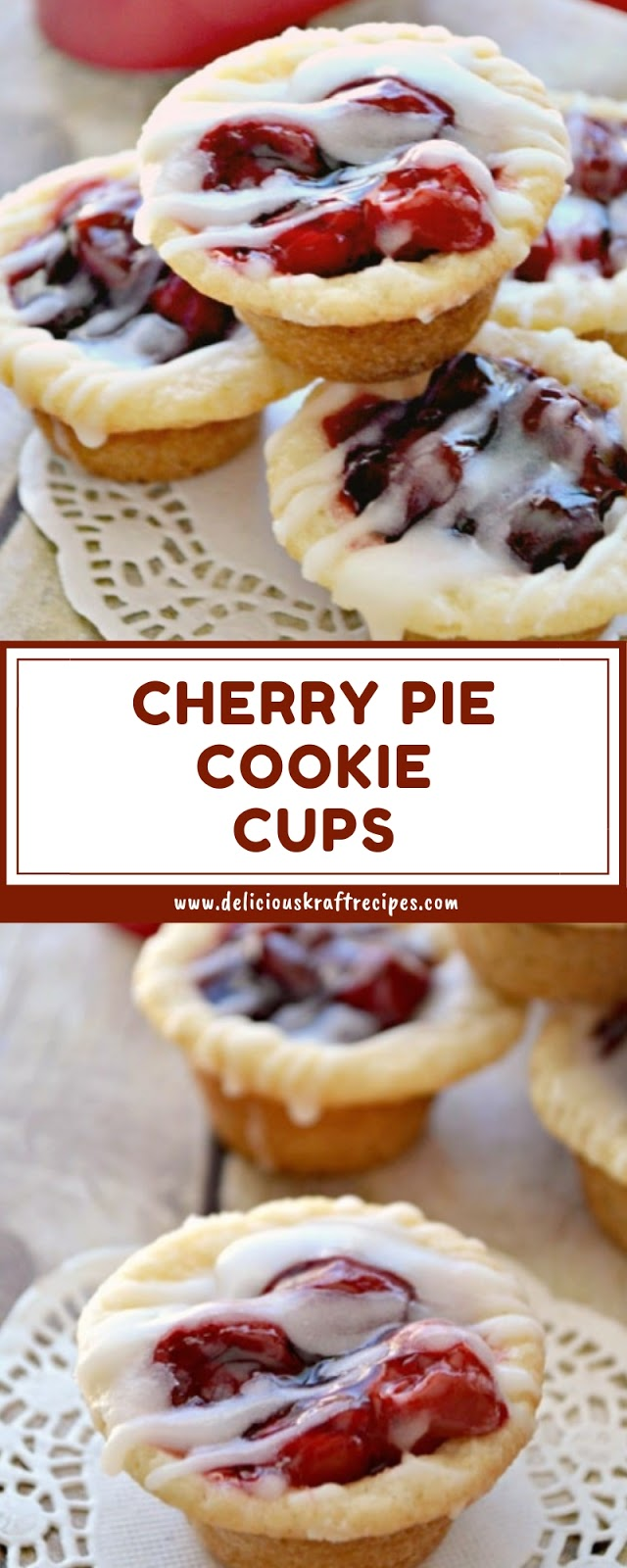 CHERRY PIE COOKIE CUPS