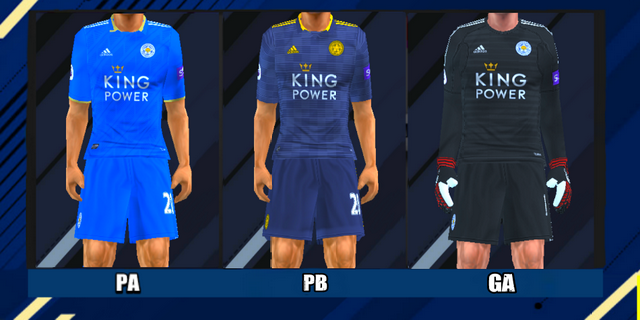 Leicester City 2018/19 Kits Leaked - PES PSP