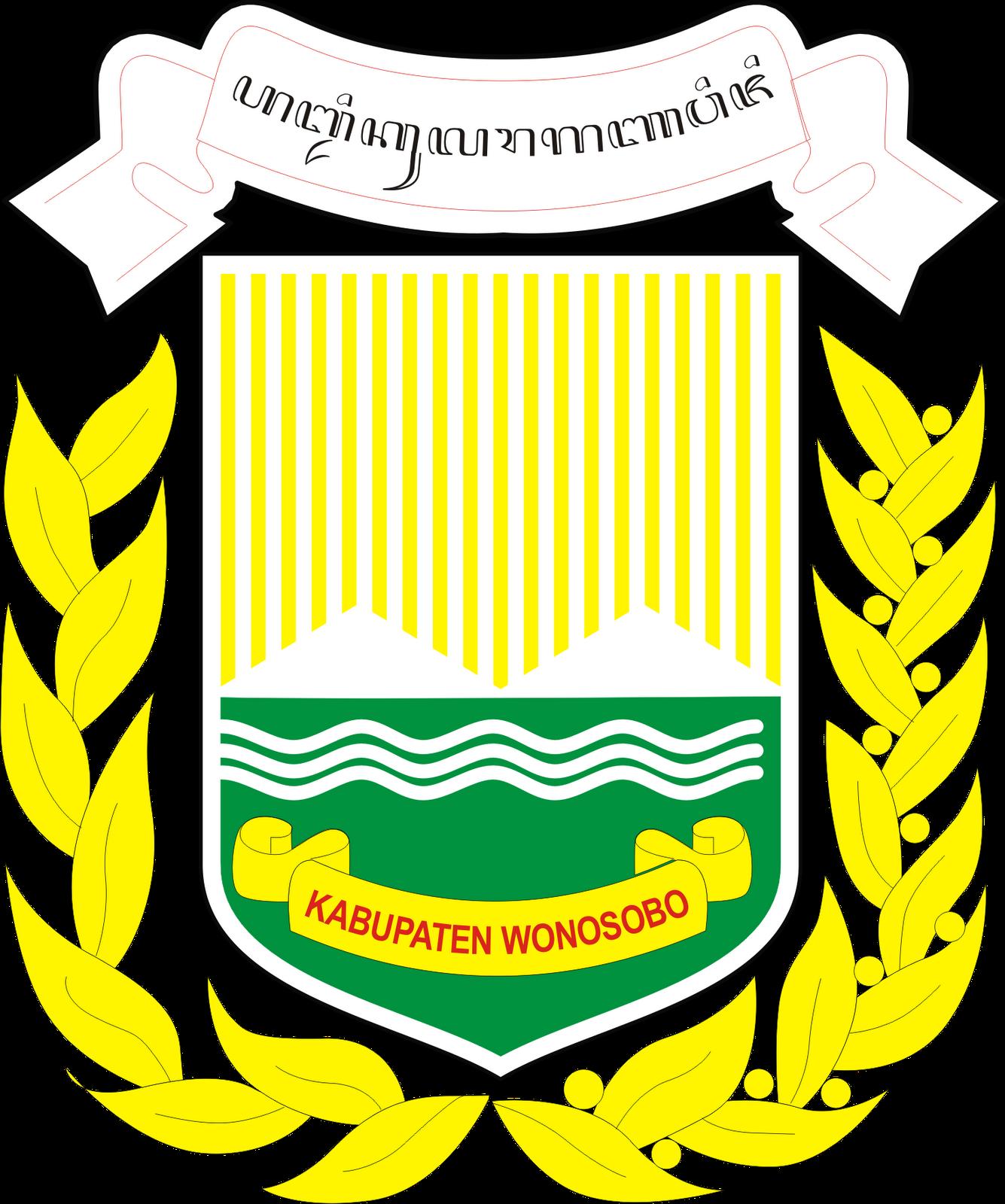 Logo Kabupaten Wonosobo Provinsi Jawa Tengah Logo Lambang Indonesia