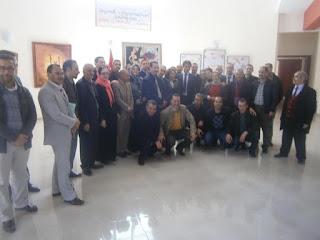 وزان:حفل تنصيب السيد فؤاد ارواضي نائبا إقليميا لوزارة التربية الوطنية والتكوين المهني 