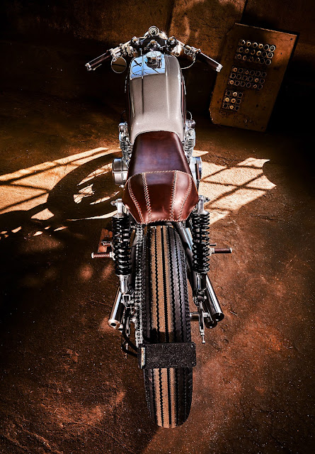 Honda CB550 By Mellow Motorcycles Hell Kustom