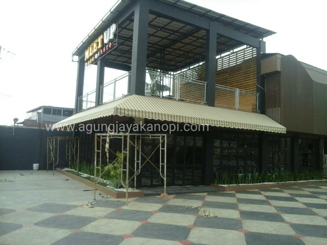 Kanopi Kain Jakarta Jual canopy kain Tenda membran di