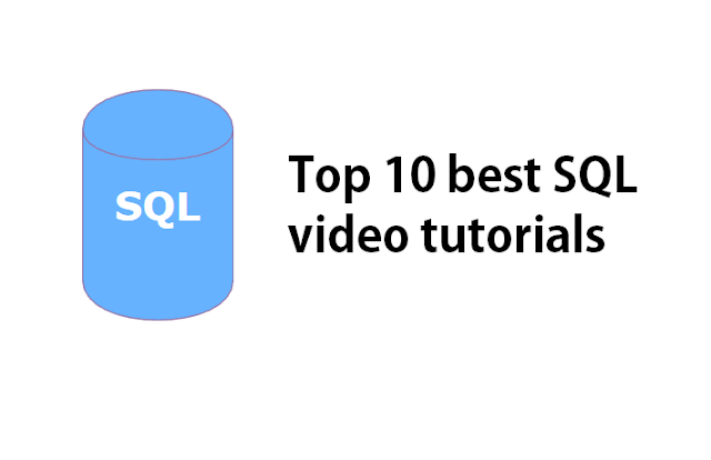Top 10 best SQL video tutorials