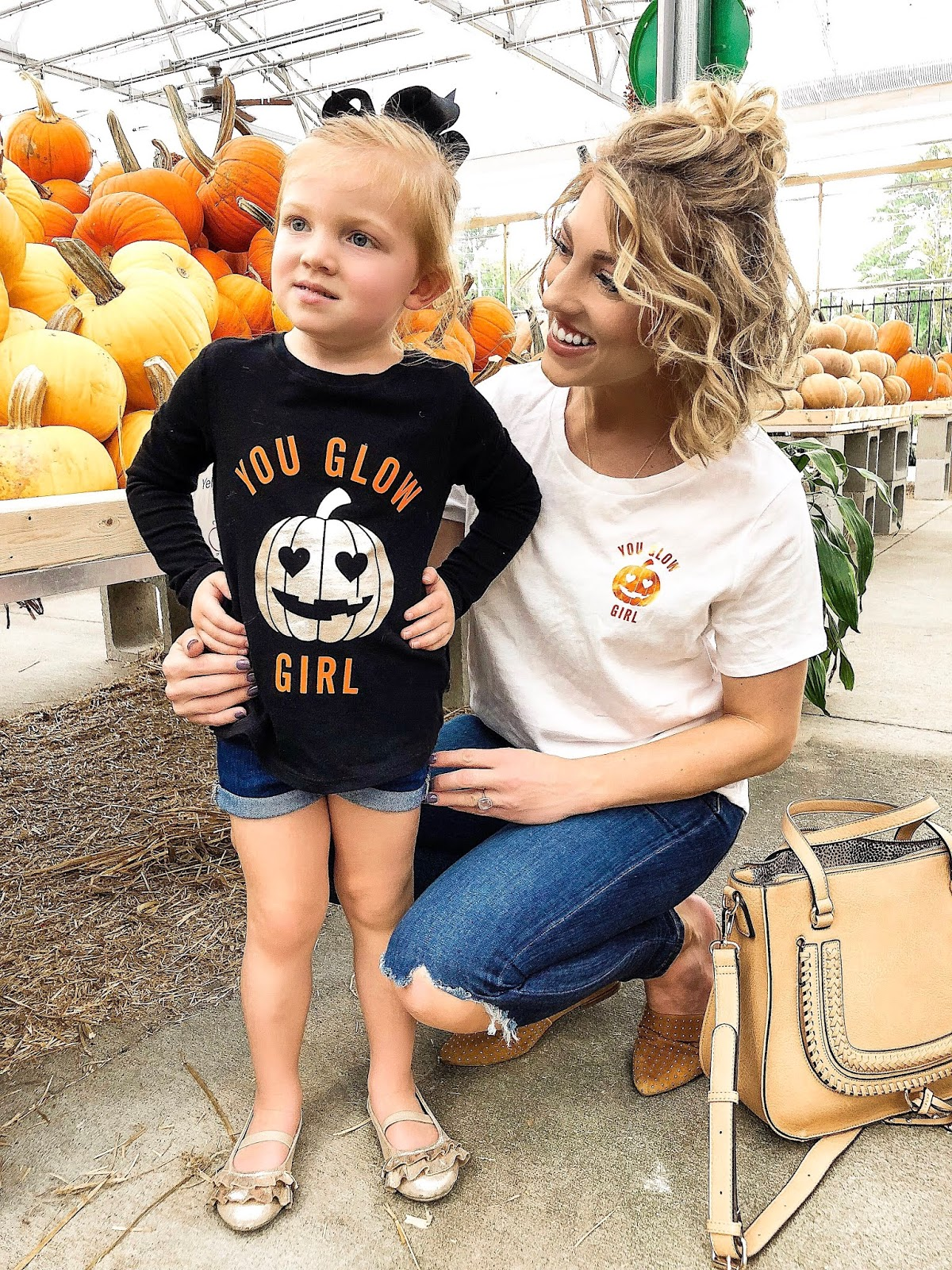 "Mommy and Me ""You Glow Girl"" T-Shirts - Something Delightful Blog"