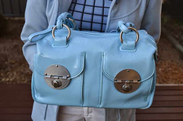 Baby Blue Mimco Bag