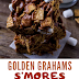 Golden Grahams S'Mores Bars are gooey, chewy, a little crunchy, and the perfect