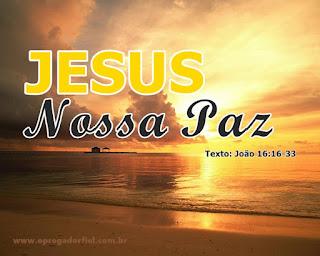 Série: Jesus no Evangelho de João - Jesus: Nossa Paz