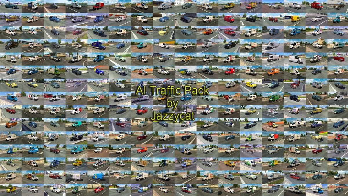Jazzycat – AI Traffic Pack 7.8