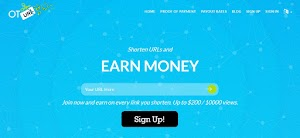 OTURL.com Review : Shorten URLs , Earn Money And Payment Proof | Make Money Shortening URLs