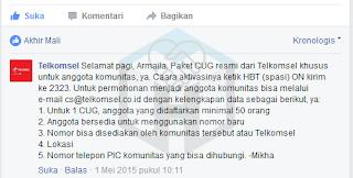 CUG Telkomsel Resmi Atau Ilegal?