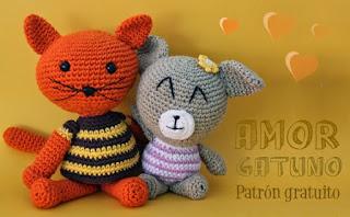 http://www.susigurumi.com/2014/05/patrones-gatete-y-gateta-amigurumi.html