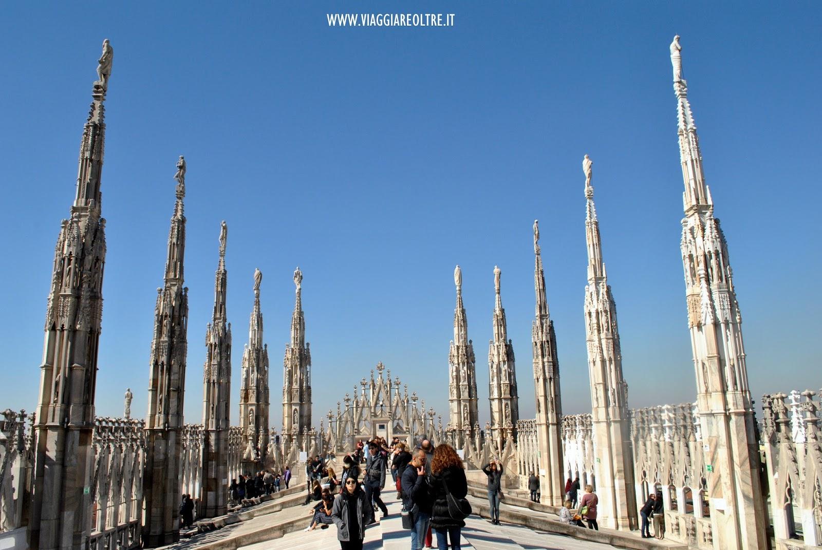 Visita alle terrazze del Duomo di Milano | Viaggiare Oltre