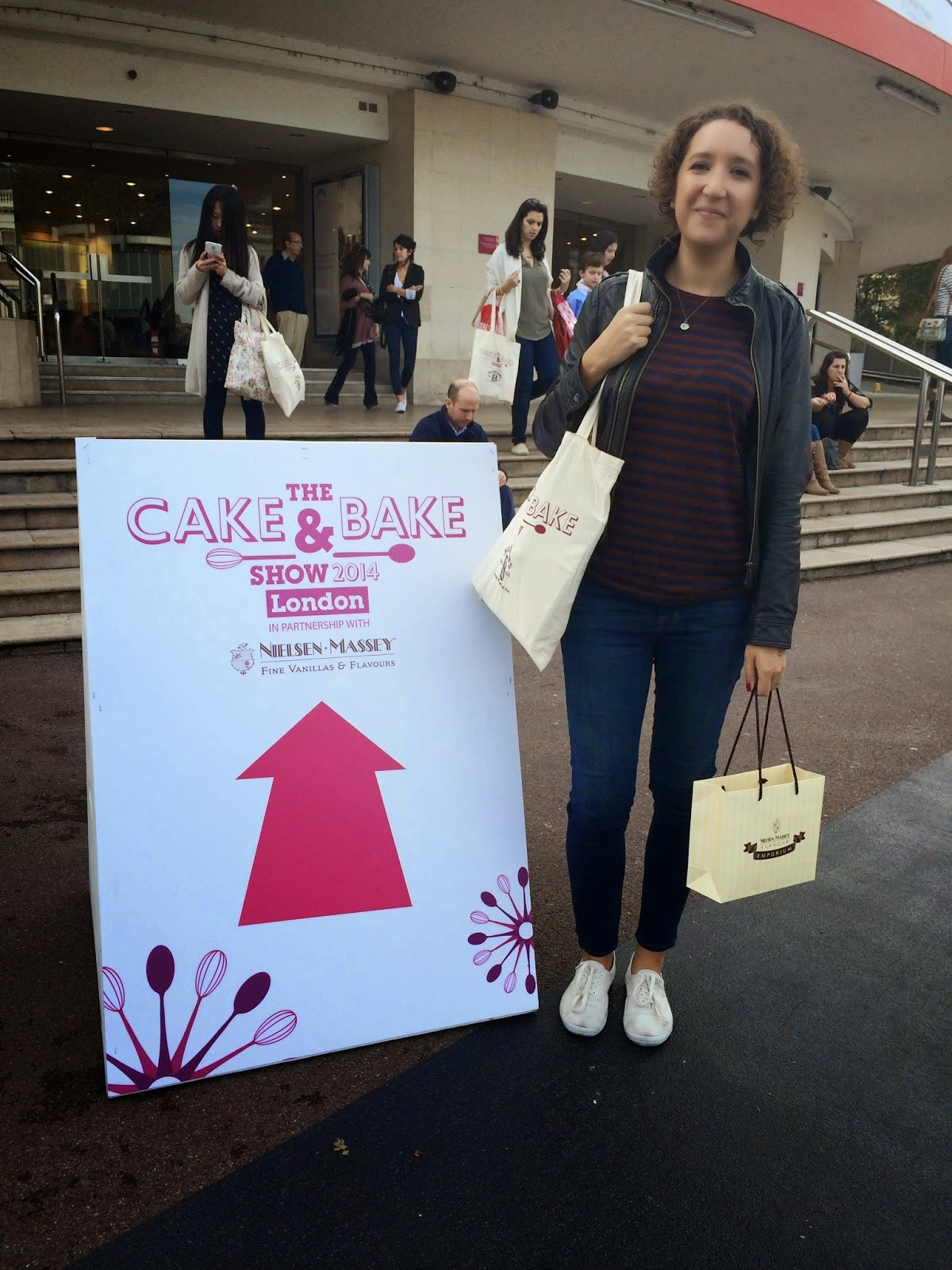 cake and bake show london 2014