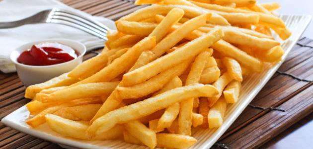 فكرة مشروع مربحة: انتاج البطاطس نصف مقلية