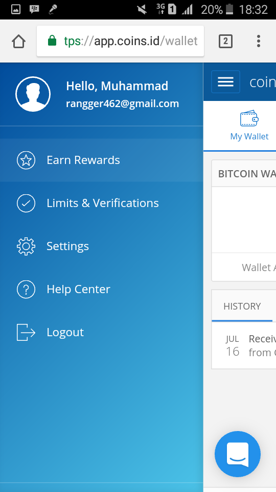 0 001 Bitcoin Navigation Menu