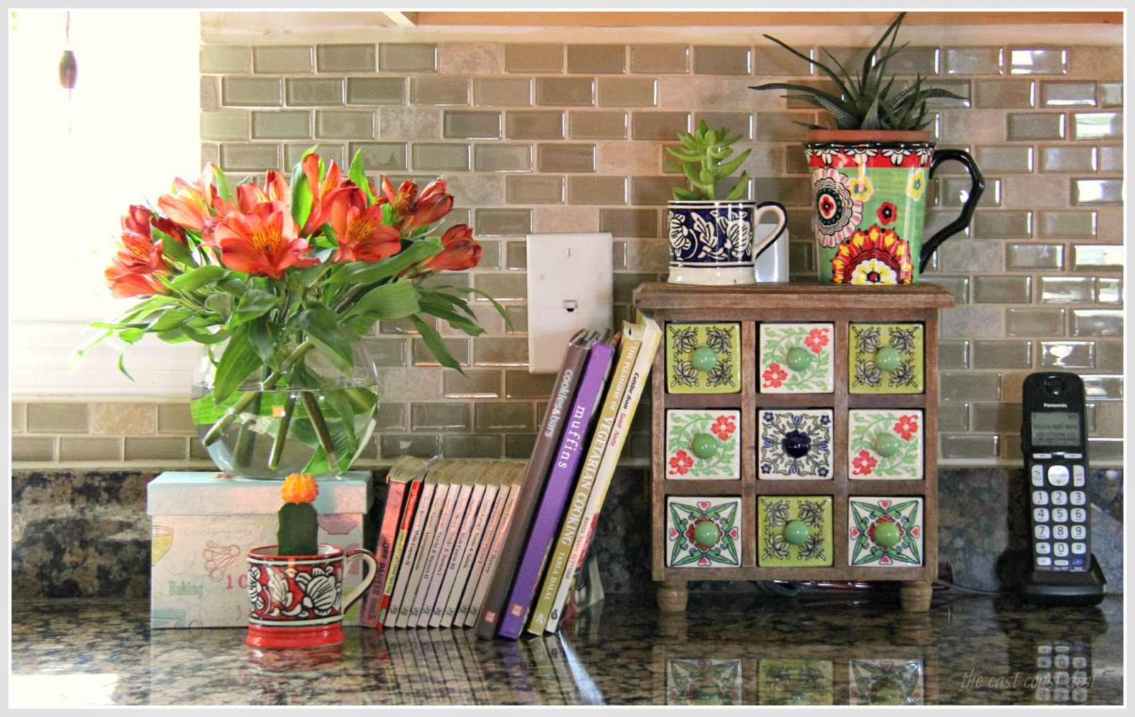 Fruit Themed Kitchen Decor Collection The East Coast Desi Eat In Central My Kitchen Tour