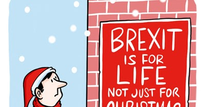 Royston Cartoons Merry Brexmas And A Trumpy New Year