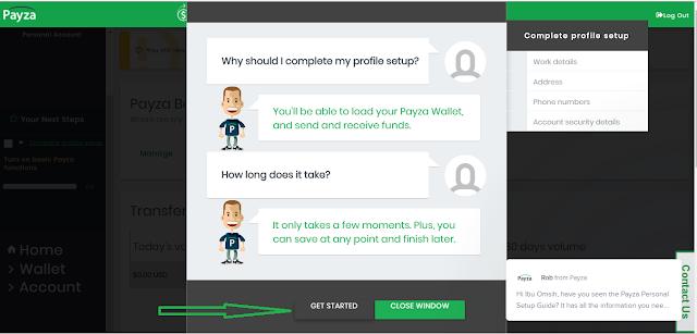 Cara Mudah Melengkapi Profil Pendaftaran di Situs Payza