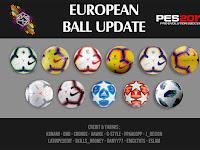 PES 2017 European Ballpack dari AK-RF Mod