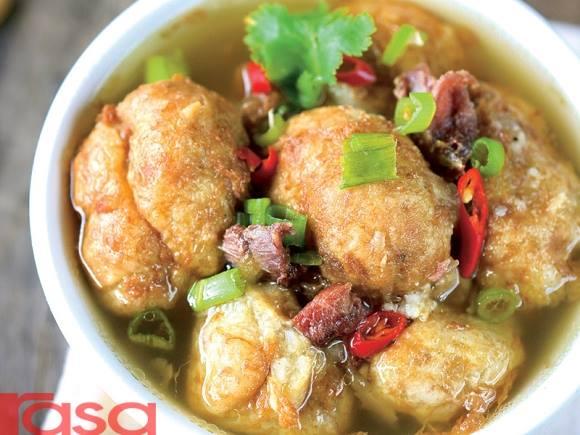 resepi sup bebola daging