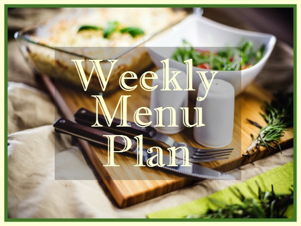 Easy Mexican Recipes for Dinner are featured on this week's menu plan from Walking on Sunshine.