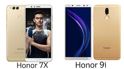 Honor 7X vs Honor 9i