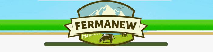 Логотип сайта игры Новая ферма