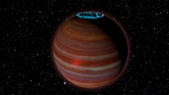 Ανακαλύφθηκε πλανήτης μεγαλύτερος από τον Δία με δικό του… φως «κοντά» στη Γη