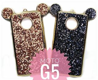 carcasa Mickey moto G5