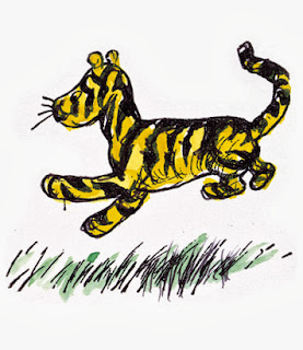 Tigger illustrated by E. H. Shepard
