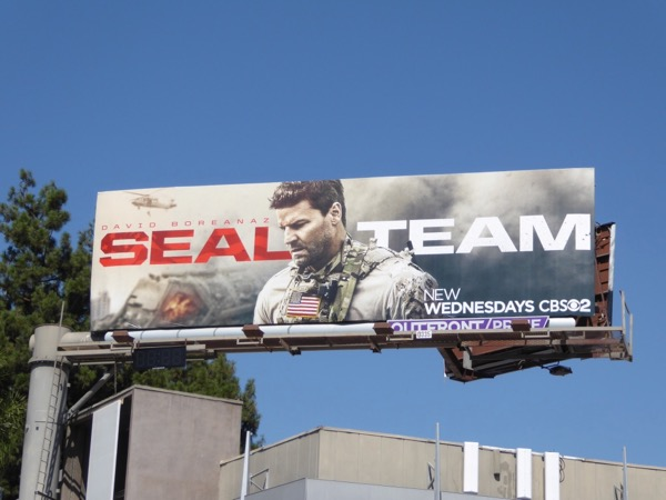 SEAL Team series premiere billboard