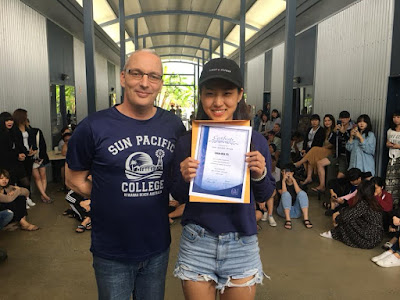 SPC 陽光太平洋學院 - 學生Cathy 經驗分享