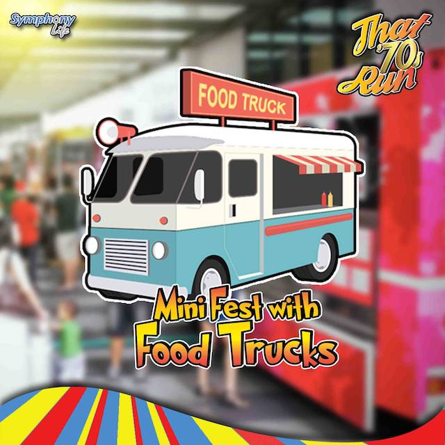 Watch out for the food trucks after the run