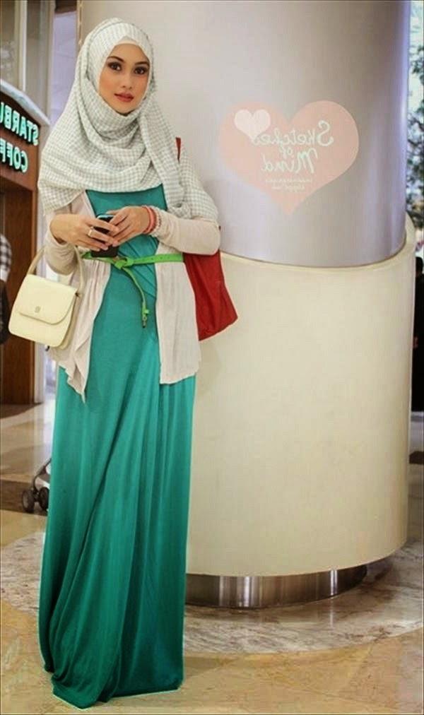 Menggunakan jilbab merupakan suatu kewajiban bagi umat muslim 20 Contoh Jilbab Model Minimalis Modern Terbaru 2018