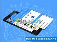 BBM Mod LightSkyBlue Versi 2.13.1.13 Apk