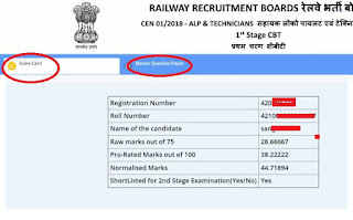 rrb alp technician result