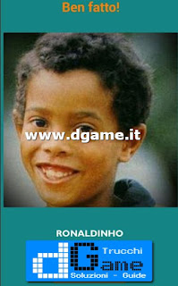 Soluzioni Guess the child footballer livello 3