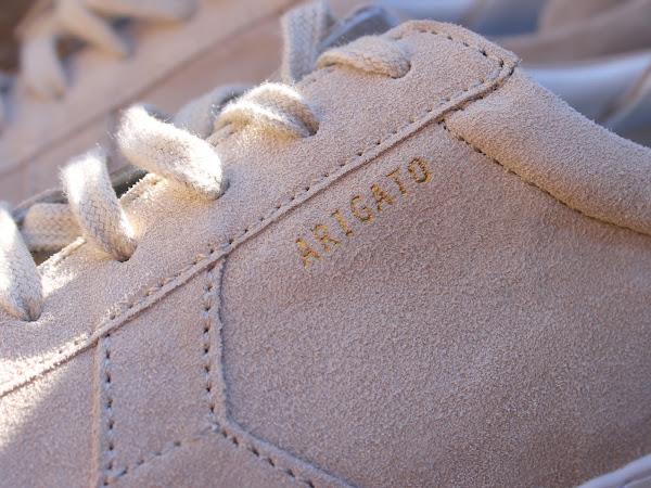 Axel Arigato Platform Sneaker Sand Suede