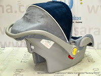 Infant Car Seat Pliko PK02 Carrier Navy Blue Grey