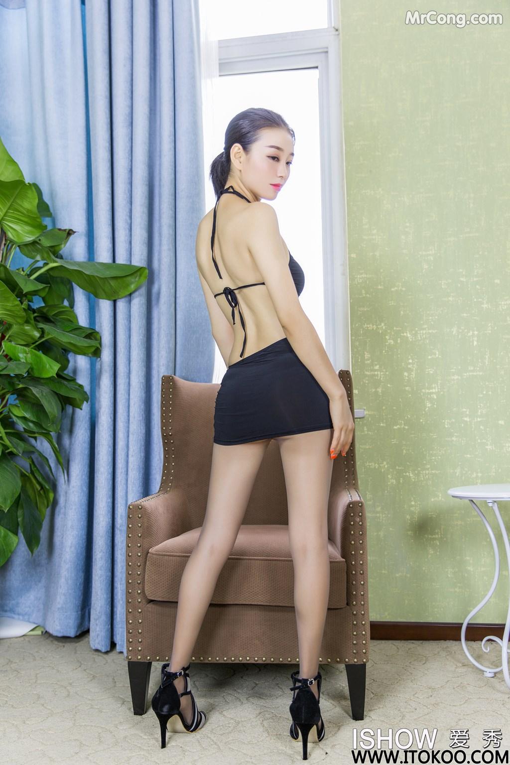 Image ISHOW-No.180-Xiao-Fan-MrCong.com-009 in post ISHOW No.180: Người mẫu Xiao Fan (小凡) (31 ảnh)