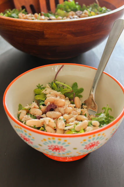 White Bean and Tuna Salad | The Chef Next Door