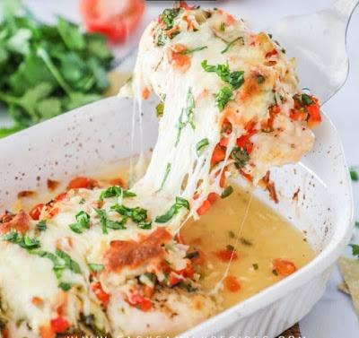 Easy Salsa Fresca Chicken – Low Carb & Gluten Free