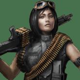 Machine Gunner - T2 - Jenis pasukan pada Mobile Strike