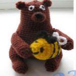 patron gratis oso amigurumi |  free pattern amigurumi bear