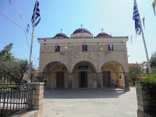 ο ναός της Κοίμησης της Θεοτόκου στην Αίγινα