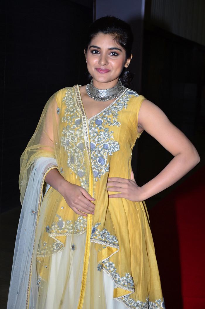 Nivetha Thomas at Ninnu Kori Movie Pre Release Function Stills